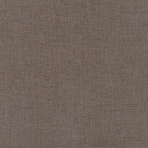 Stone Linen van French General.Donker grijs/bruine quiltstof70% linnen. Luxe uitstraling, steviger dan katoen quiltstof