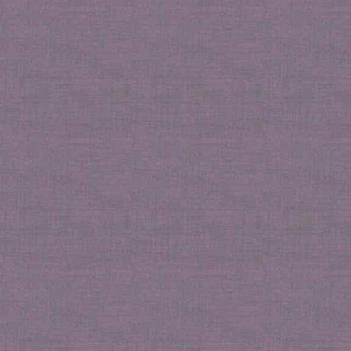 Effen paarse quiltstof in linnenlook.100% katoen