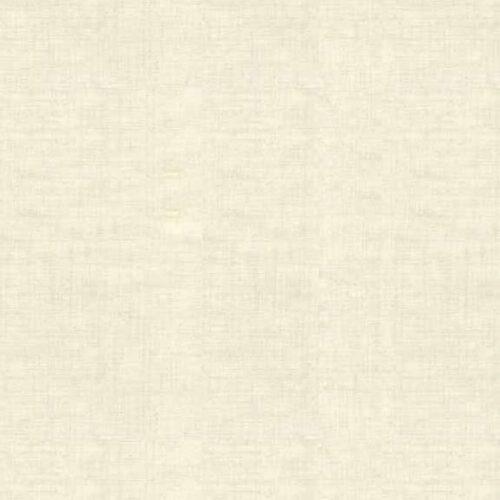 Effen, cremekleurige stof met linnen texture. Quiltstof, 100% katoen
