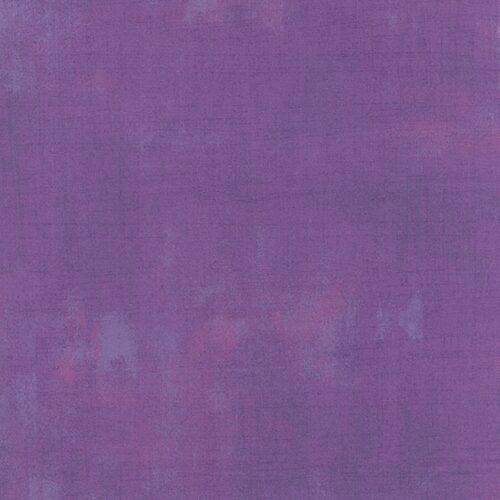 Quiltstof lila met roze en lichtblauwe vlekken en grijze veegjes. Quiltstof, 100% katoen