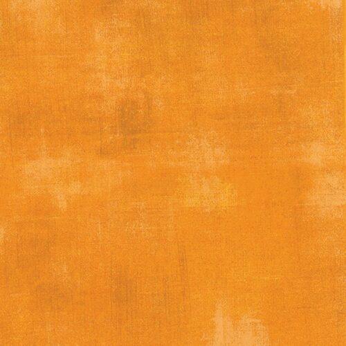 goudgele, bijna oranje, effen quiltstsof Grunge Yellow, 30150 260. Quiltstof, 100% katoen