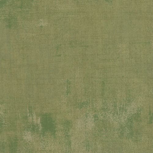 Groene effen ton sur ton quiltstof Grunge, 100% katoen, moda basic grey
