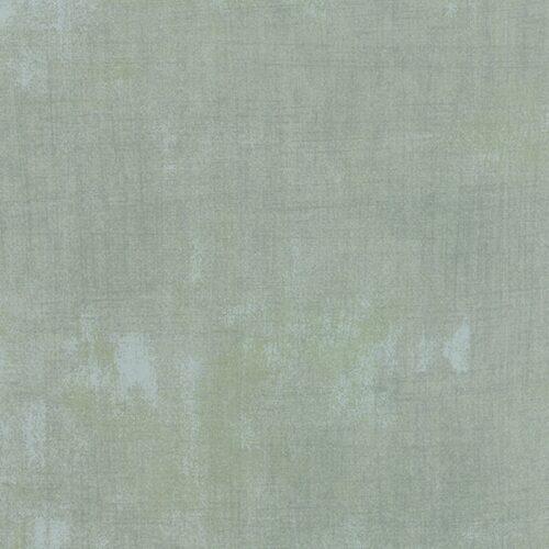 Effen grijzige 'Frans' blauwe quiltstof. Moda Quiltstof, 100% katoen