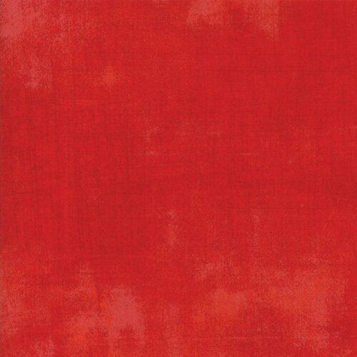 Merry Scarlet Grunge is stralend en diep kerstrood. 30150 365 Moda Basic, 100% katoen