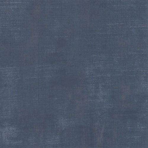 Quiltstof Moda Basic Grey. Een mat, diep donkerblauwe Grunge . Quiltstof, 100% katoen