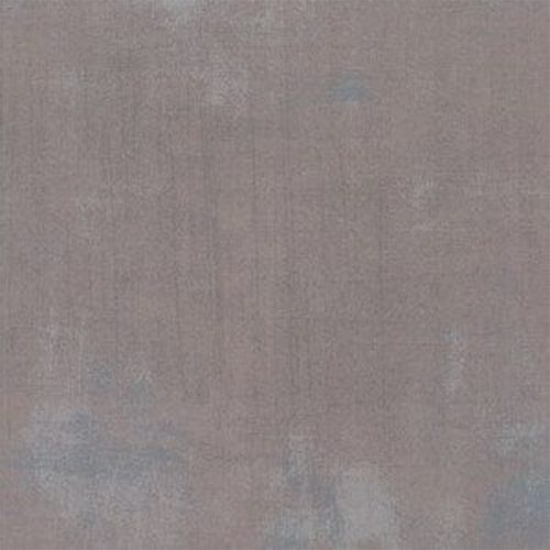 Warm, neutraal grijs, quiltstof Grunge, effen ton sur ton, 100% katoen