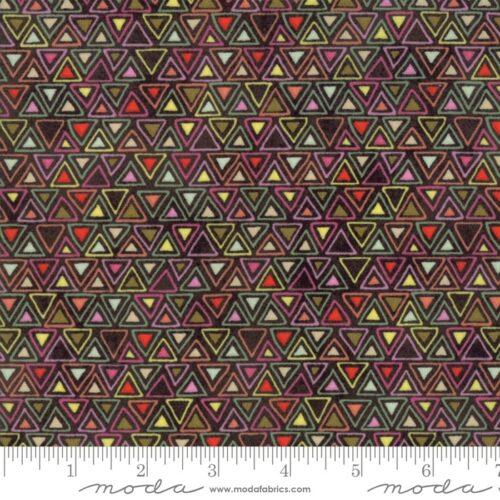 Veelkleurige moderne quiltstof met blokjesmotief uit de Moda-collectie Meraki, ontworpen door Basic Grey.Quiltstof, 100% katoen