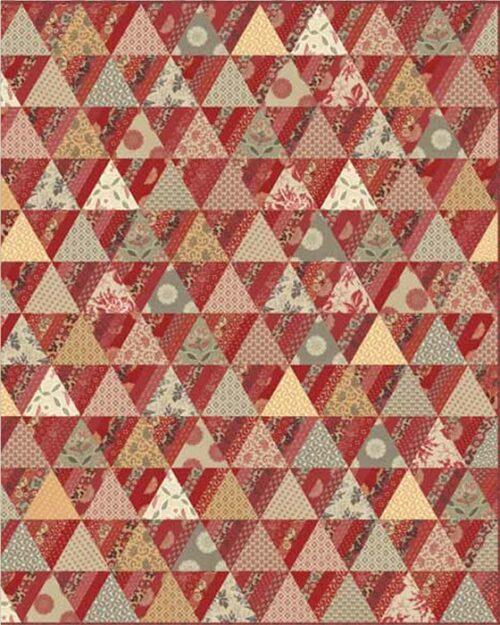 Gratis patroon bij de quilt stoffen collectie van French General.