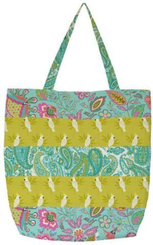 Ontworpen door Janet Goddard www.patchworkpatterns.co.uk met de Monsoon-collectie.