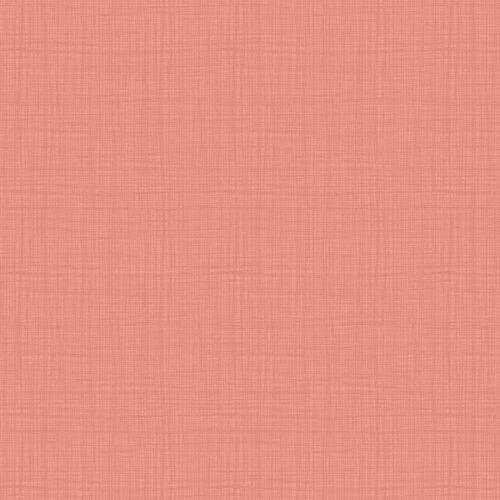Effen, roze stof met geruit printje.Quiltstof, 100% katoen