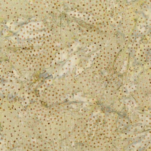 Bruin/beige batik quilt stof uit de Makower-collectie Splash of Color, ontworpen door Edyta Sitar (Laundry Basket). Quiltstof 100% katoen, van de rol, ook als fat quarter online bij quiltkompas.