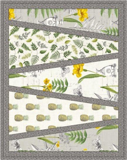 Gratis patroon voor de collectie Fern Garden door Lynne Goldsworthy van lilysquilts.blogspot.com