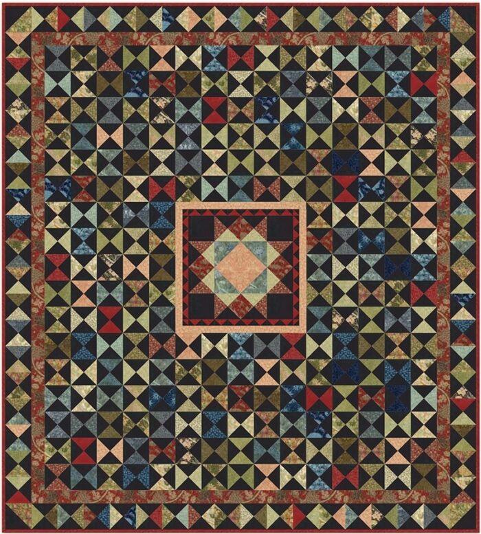 Gratis patroon voor de collectie William Morris van Moda in samenwerking met Victoria & Albert's museum.