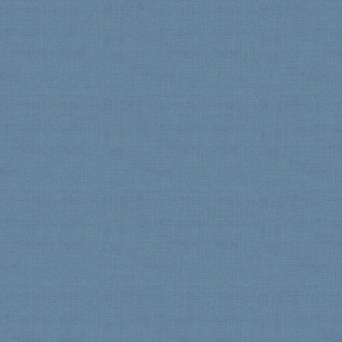 Blauw modern effen quiltstof