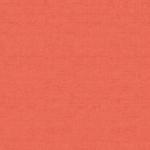 Oranje modern effen quiltstof linen texture