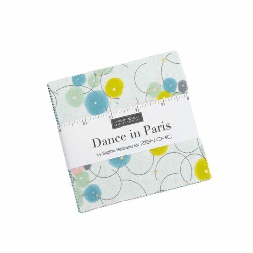 Dance in Paris quiltstof is een moderne Moda-collectie van Zen Chic. Online te koop bij quiltkompas