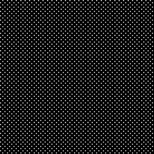 zwarte quiltstof met witte stippen, spot on, makower